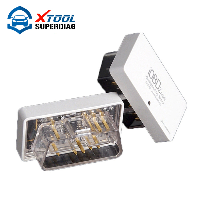 New Arrival Original IOBD MINI Bluetooth OBD2 Interface Works On Android/IOS XTool IOBD2 MINI Better than ELM327 Free Shipping(China (Mainland))