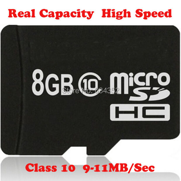 Brandnew Micro SD Card Class 10 High Speed 8GB 16GB 32GB 64GB Memory Card TF Card Transflash Card for Mobile Phone Adapter Free
