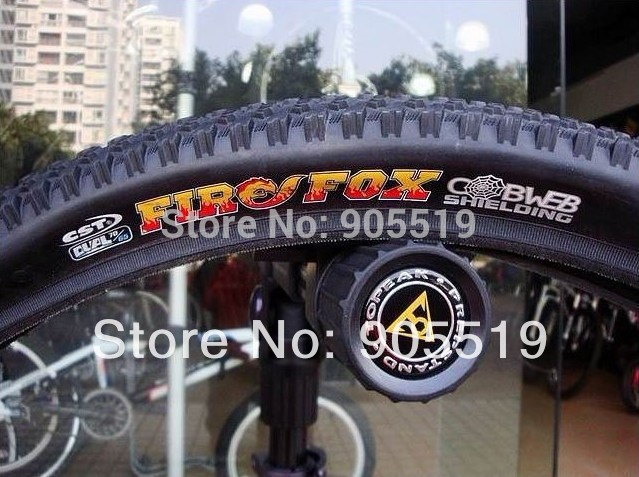 2013 HOT CST FIREFOX pure mountain tires bike off-road tire tyre 26x 1.95& 26x 2.1 60TPI EPS stab - resistant Free Shipping(China (Mainland))