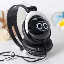 2016 New Arrival Cartoon Colourful Headphone with Microphone for Mobile Phones and Computer for kids