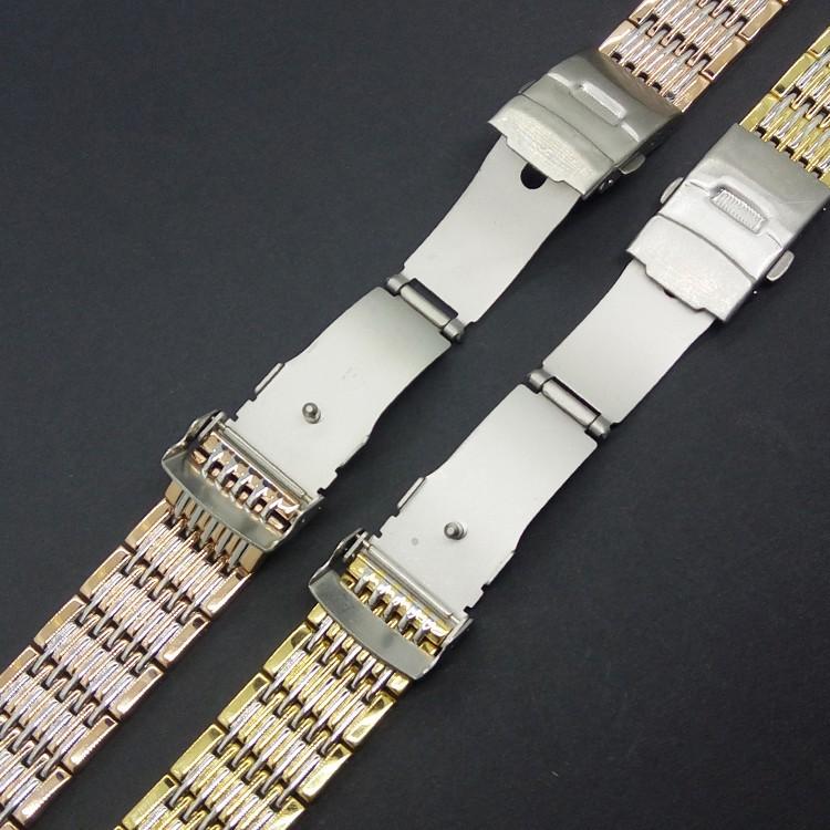 Горячая новое поступление высокая Qulaity 20 мм из нержавеющей стали Watchband металлический браслет ремешок замена наручные часы мужчины группа бесплатная доставка
