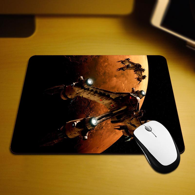 Babylon 5 Mouse Pad Fashion Computer Notebook Gaming Mice Mat 18*22cm and 25*29cm Mouse Mats