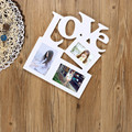 10 pcs/lot 3 Inch DIY Cartoon Multicolors Photo Frame Wall Animal Paper Picture Photo Frame with Mini Clothespins & a long rope
