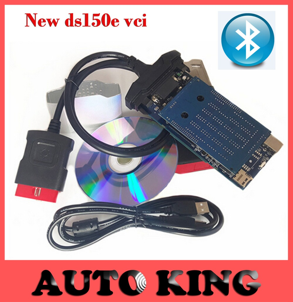 SUPER ! Newest  vci (2013.3) Software for TCS CDP + pro DS150E with Bluetooth,LED,free activation with DHL free shipping<br><br>Aliexpress