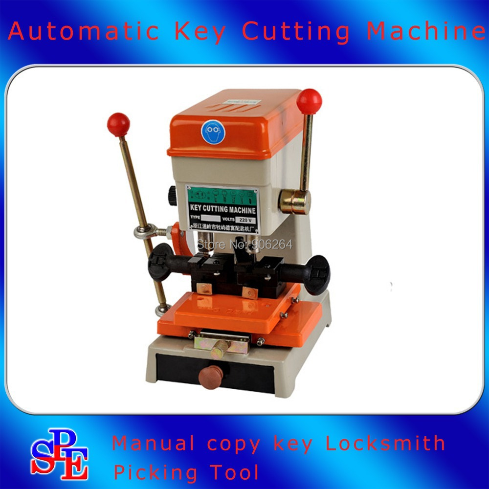 Fast Shipping 368A Vertical Car Household Key Copy Cutting Dulplicated Machine Locksmith Picking Tool 220V(China (Mainland))