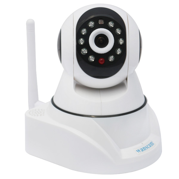 WANSCAM Wireless Wifi Plug Play Dual Audio Pan/Tilt PT IR Night Vision Indoor Security IP Camera Support 32G TF Card<br><br>Aliexpress