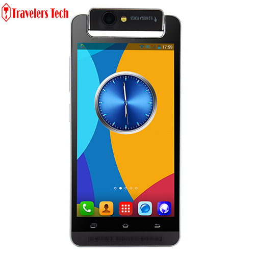 Cheap Android Mobile Phone X-BO V5 Rotatable Camera Fashion 512MB RAM 4GB ROM 5 Inch Dual SIM Card 3G WCDMA Smartphone(China (Mainland))