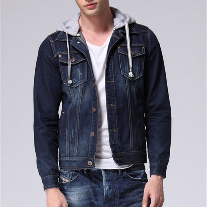 Images of Denim Jacket Hoodie - Reikian