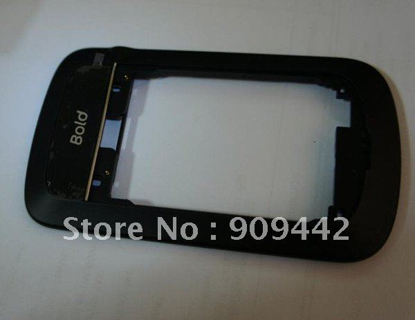 10pcs/lot New Black Non-cam midplate frame with parts for Bold 9900/9930(China (Mainland))