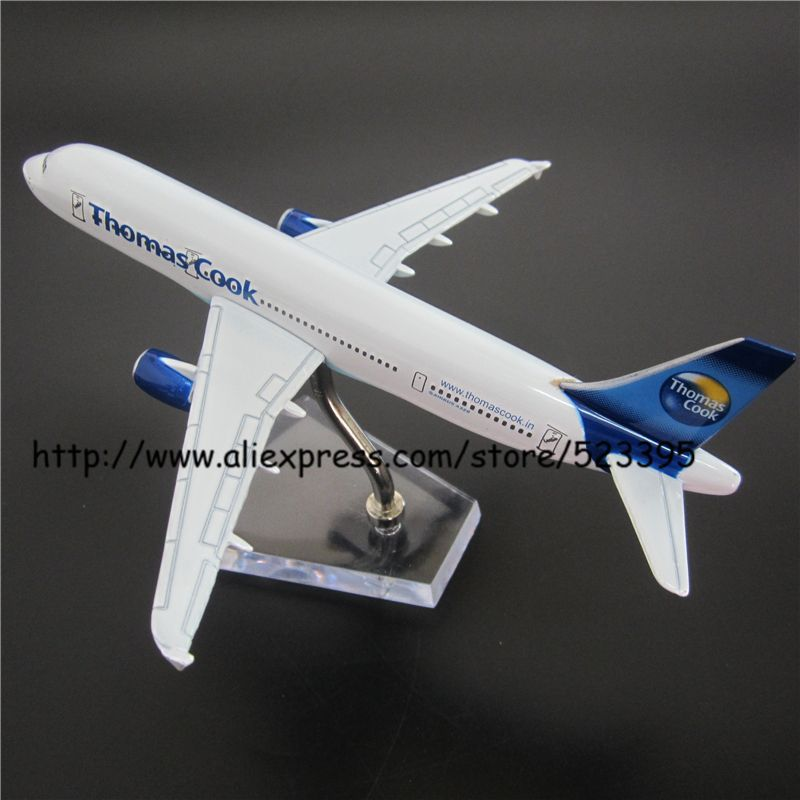 16cm Thomas Cook Airbus A320 Airlines Alloy Airplane Model Airways Plane Model Diecast Souvenir Collections Vehicle Toy(China (Mainland))