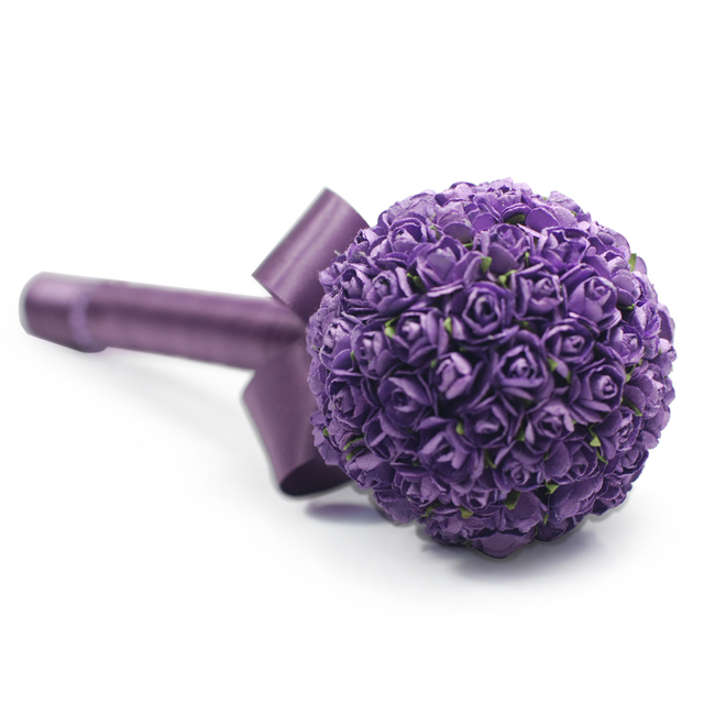 Flower ball large sign pen - lavender quality signature pen marriage wedding supplies
