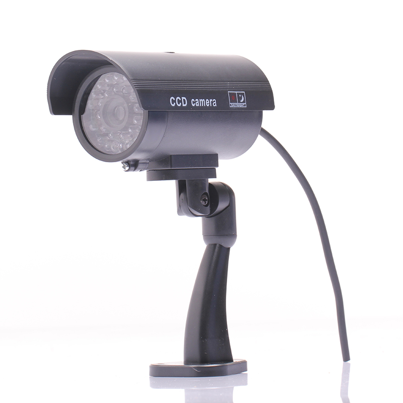 Waterproof Outdoor Indoor Fake Security Dummy CCTV Surveillance Camera Night CAM LED Light(China (Mainland))