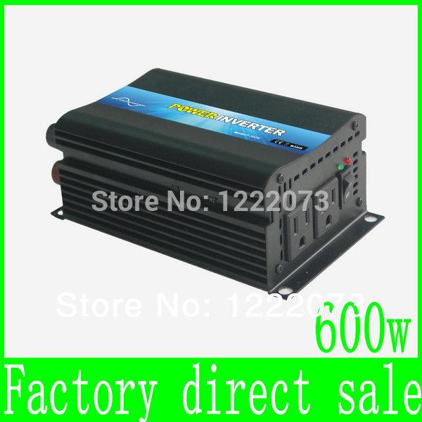 HOT SALE!! 600W Off Grid Inverter Pure Sine Wave Inverter DC12V or 24V or 48V input, Wind Power Inverter(China (Mainland))
