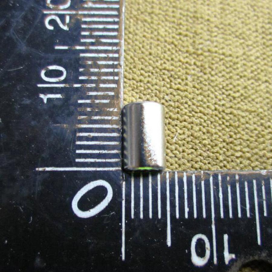 10Pcs 5mm * 8mm Super Strong Rare Earth NdFeB Magnets Neodymium N50 Magnet 5 * 8 mm Round Cylinder Permanent Sheet FridgeAPS0673(China (Mainland))