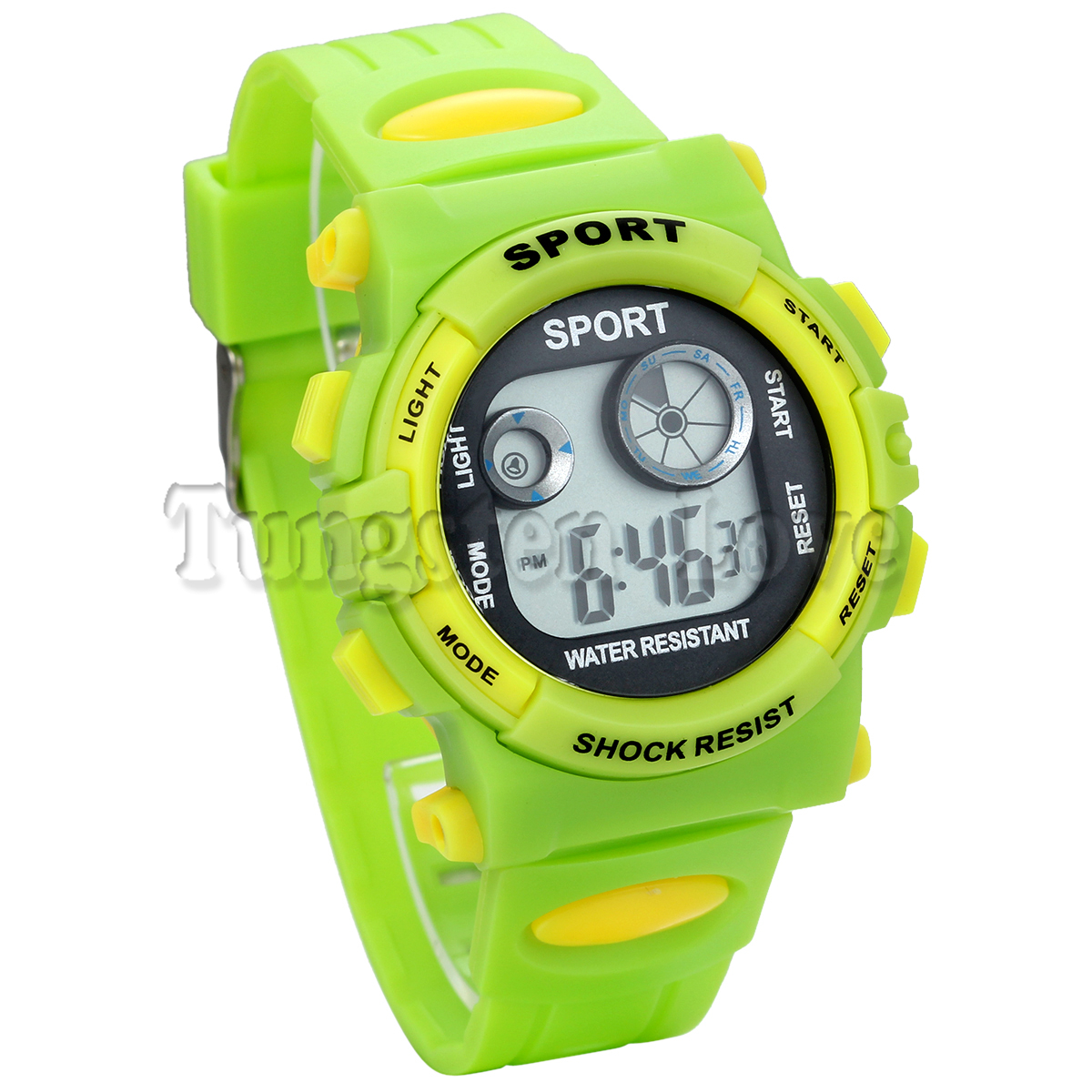 TungstenLove 30M Waterproof Muti-Function Digital Sports Watch With Switchable Back Light For Boys(China (Mainland))
