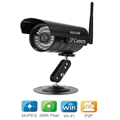 WANSCAM Mini Outdoor JW0011 Black 3 6mm Lens Wide Angle Wireless IP Camera IR Night Vision