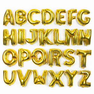 40 inch gold 26 alphabet letters balloons large foil balloon happy birthday new year wedding party