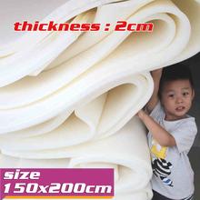"Foam Rubber Slab  High Density Foam  Upholstery Foam Cushion  2cm Thick  Size 78""x58""/  150cm X 200cm   Free Shipping(China (Mainland))"