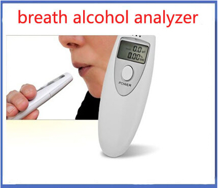 3pcs/lot Breath Tester Analyzer Pocket Digital Alcohol Breathalyzer Detector Test Testing Brand New(China (Mainland))