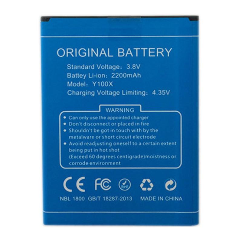 Гаджет  100% Original DOOGEE NOVA Y100X Battery 2200mAh Replacement Backup Battery For DOOGEE NOVA Y100X Smartphone Free Shipping None Бытовая электроника