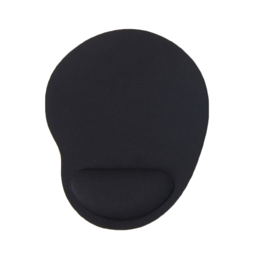 1pcs Mouse Pad Comfort Wrist Gel Thicken Support For Optical Trackball Mat Mice Pad Free shipping