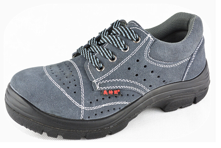Unisex flat career Safety working Shoes female male Anti puncture steel toe 35-46 sy-796(China (Mainland))