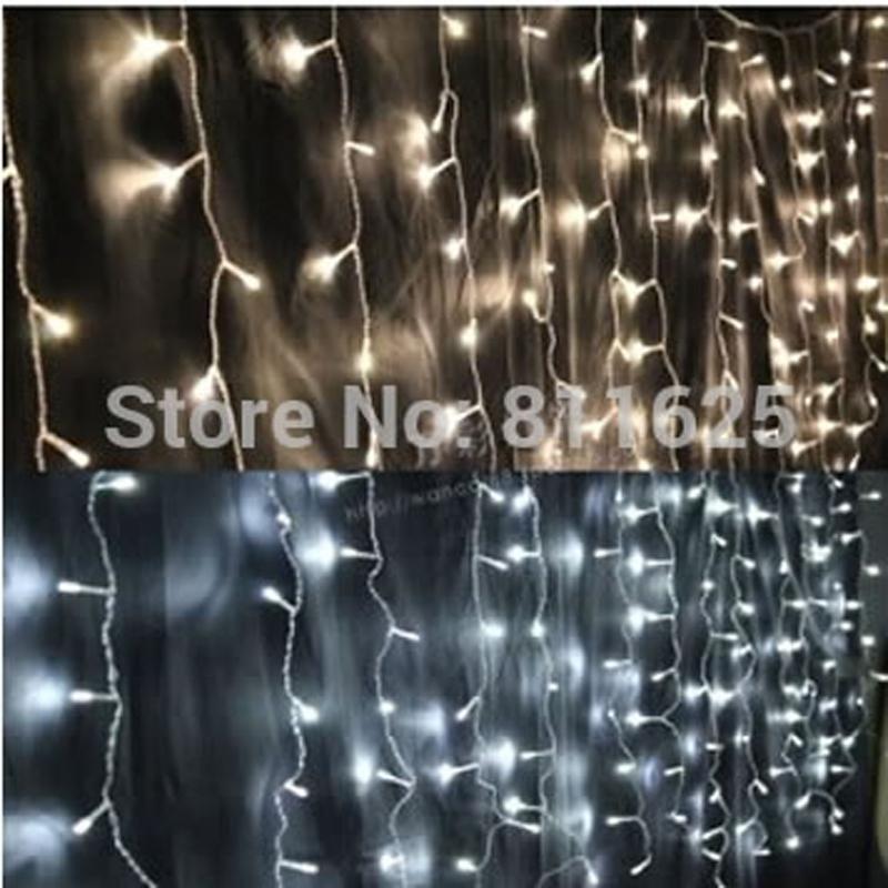 220v-240V   EU AU Plug 3m*3m 300LEDs lights flashing lane LED String curtain light Christmas home garden festival lights(China (Mainland))