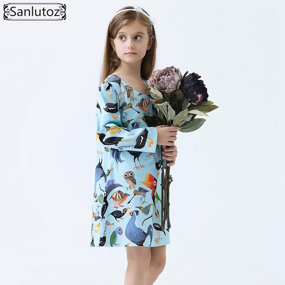 Здесь можно купить  Girls Dress Winter Kids Clothes Brand Girls Clothing Cartoon Children Dress for Princess Holiday Party Wedding Baby Toddler  Детские товары