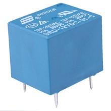 F038 High Quality 5 Pins RELAY 12V DC Coil Power Relay PCB < SRD-12VDC-SL-C(China (Mainland))