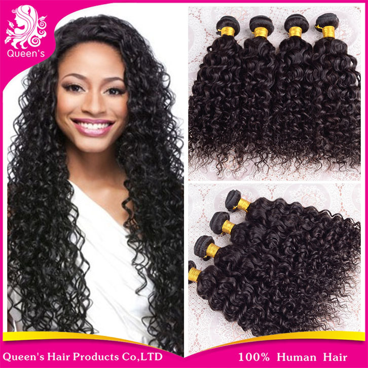 "Queen Hair Products Peruvian Virgin Hair Water Wave 3ps/lot 8""-30"" Cheap Peruvian Curl Hair soft Human Hair Extension Free Ship(China (Mainland))"