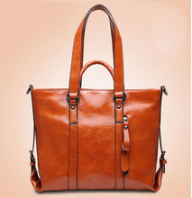 2015 Genuine Leather bags for women fashion handbag women famous brands shoulder bag high quality women