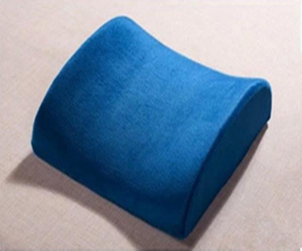 blue car pillow seat wedge car seat chair lumbar support cushion back pain cover car cushion. Black Bedroom Furniture Sets. Home Design Ideas