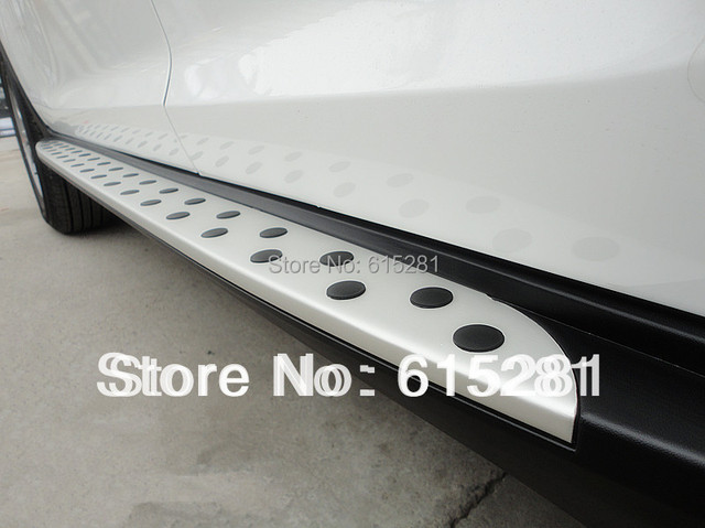 Kia Sportage 2010+ Side Step Bar Running Board,Aluminium Alloy+ABS,Free Shipping