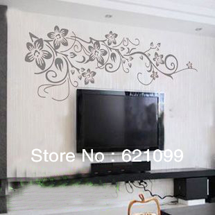 Retail - 60CM*120CM Large vine New Home Garden Decoration Vinyl Art Mural Wall Sticker Decals GWJP-21 Good life wall stickers international trade co., LTD store
