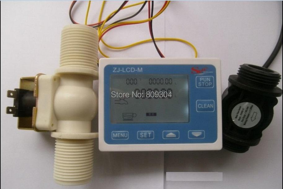 Electronic Water Flow Meter : Aliexpress buy hot sale g quot water flow control