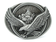 Flying Eagle Over Mountains Belt Buckle(China (Mainland))