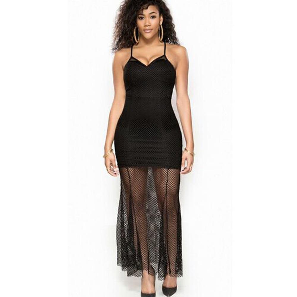 Фото женщины в прозрачном платье платье сетка 3 фотография