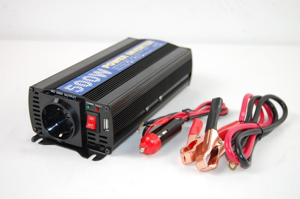 Portable car truck boat china manufacturer 500w modified sine wave power inverter / pure sine wave power inverter (Y500U)(China (Mainland))