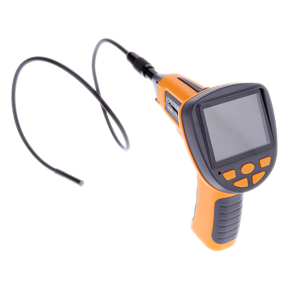 "Waterproof 3.5"" TFT LCD Digital Inspection Borescope Endoscope Snake 8.5mm Scope Camera 4 LEDs(China (Mainland))"