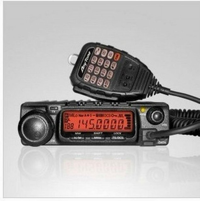 DHL Freeshipping 60W vhf/uhf amateur mobile 2 way radio walkie talkie/transceiver/ham radio  AT-588 with FCC CE RoHS approval