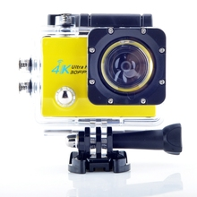 Buy sport camera Q8 2.0 inch WiFi 4K 30FPS 16MP H.264 30m Waterproof 170 Wide Lens Action DV Sports Camera for $44.99 in AliExpress store