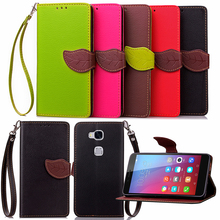 Fashion PU Leather Cover Huawei Honor 5X/Huawei Y5C/Huawei Y336 Y550 Y600 Y635 Case Wallet Stand Flip Phone Card Holder - luxurious times Official Store store