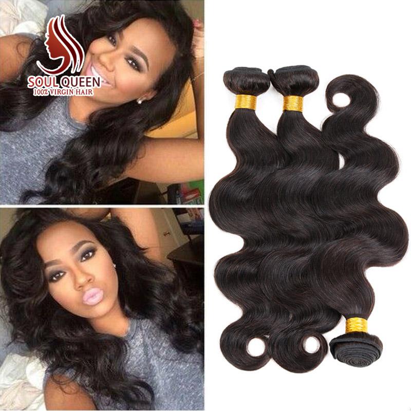 Гаджет  New!!! 7A Brazilian Virgin Hair Body Wave Best Brazilian Hair Vendors Brazilian Body Wave 3 Bundles Cheap Brazilian Hair Weave None Волосы и аксессуары