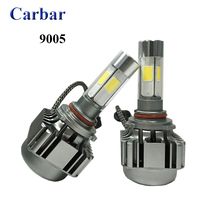 Buy Auto Led HB3 9005 Headlight Bulb H7 H1 H3 H8 H11 9005 9006 80W 8000LM 4 leds COB LED Headlight Lamp Bulb 9005 6000K for $33.00 in AliExpress store