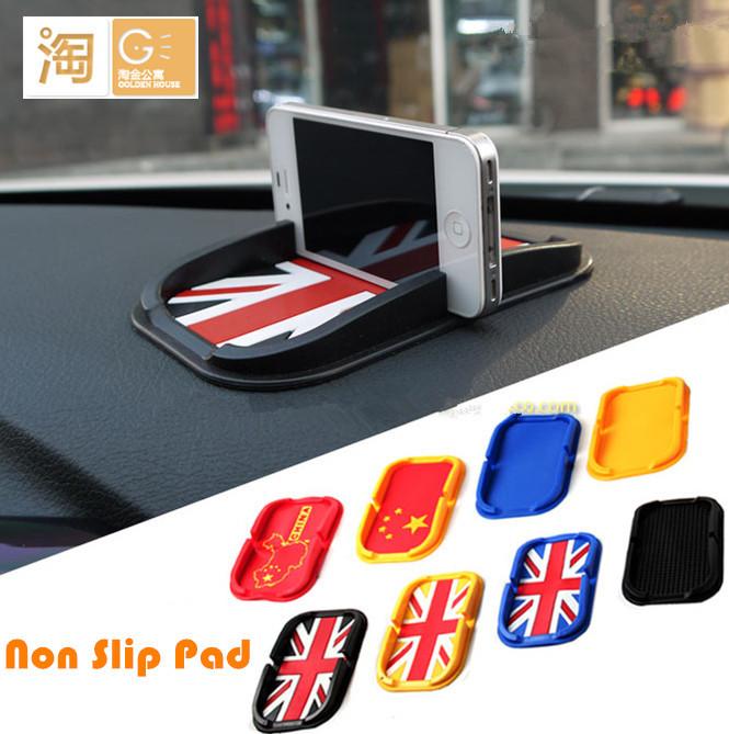 Powerful Silica Gel Magic Sticky Pad, MINI Cooper Non/Anti Slip Dash Mat for Phone PDA mp3 mp4(China (Mainland))