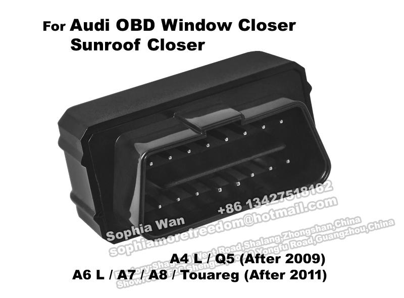 For audi A4 L Q5 A6 L A7 A8 CAN BUS OBD automatic window closer Sunroof