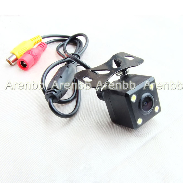 Night version back up camera 170 degree Rearview Car Camera Water Proof Back up camera 12V Freeshipping