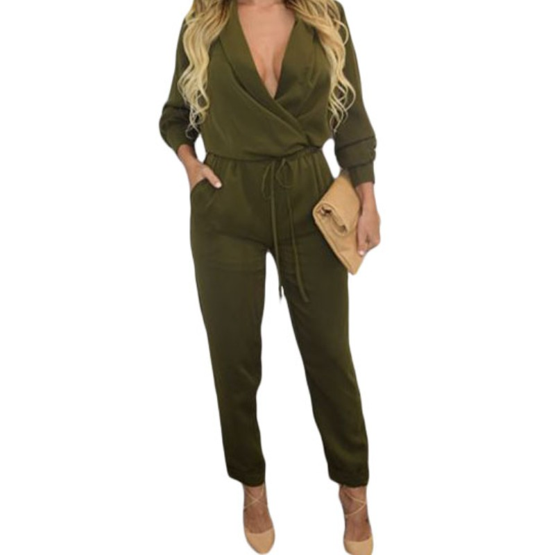 Popular Women Green Jumpsuit-Buy Cheap Women Green Jumpsuit lots ...