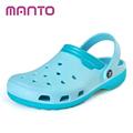 Women's Winter Clogs Men's Garden Shoes EVA Waterproof Slippers Clogs For Men Women Clog Man Candy Color Warm 36-44