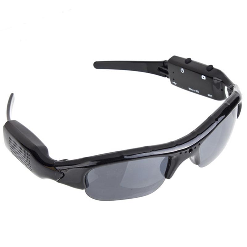 New WIFI Camera Smart Glasses Polarized Lens HD Sunglasses Camera Action Sport V
